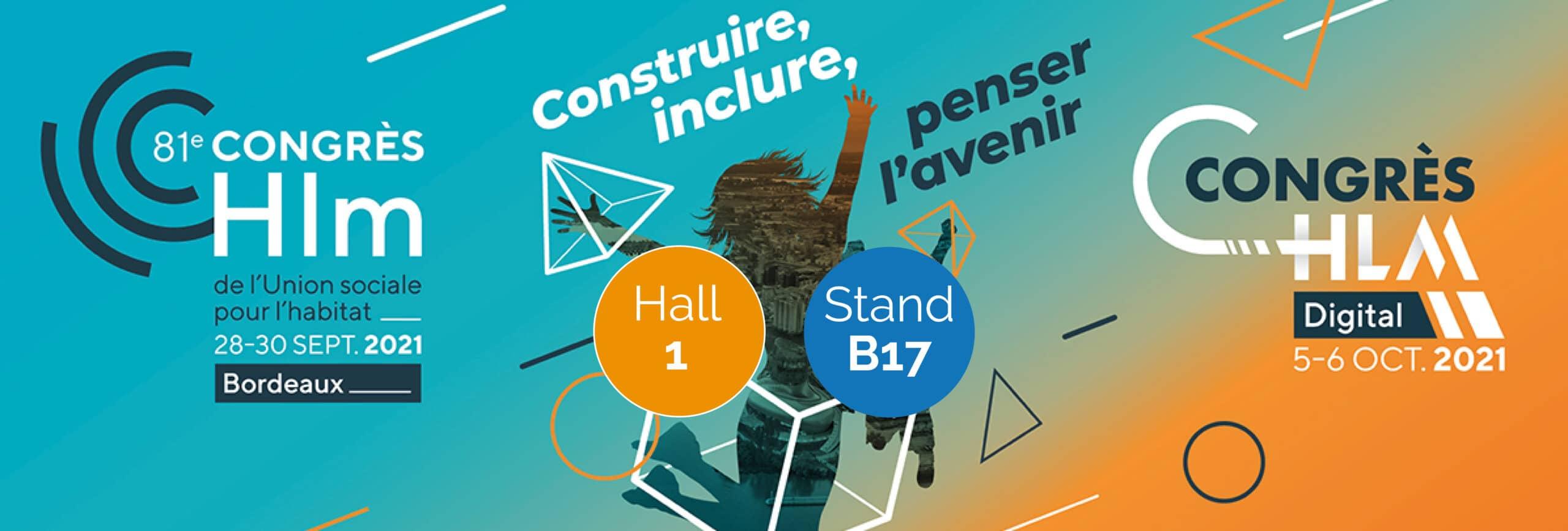 Groupe OCEA Participe au congrès de l'Union Social pour l'Habitat du 28 au 30 septembre 2021 à Bordeaux.